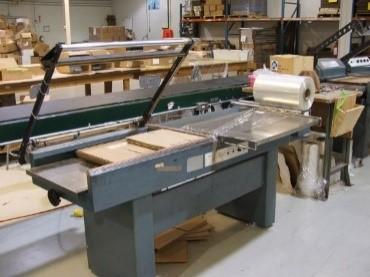 Photo of shrink wrap machine
