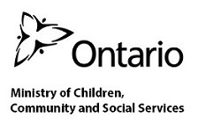 Ministry of Children, Community and Social Services Logo