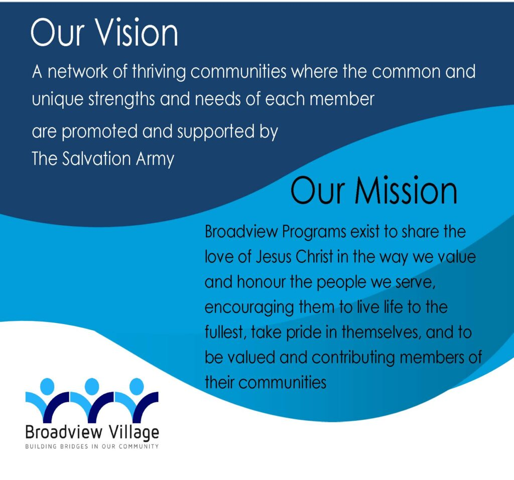 Broadview Village Vision and Mission