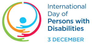 United Nations logo for International Day of Persons with Disabilities
